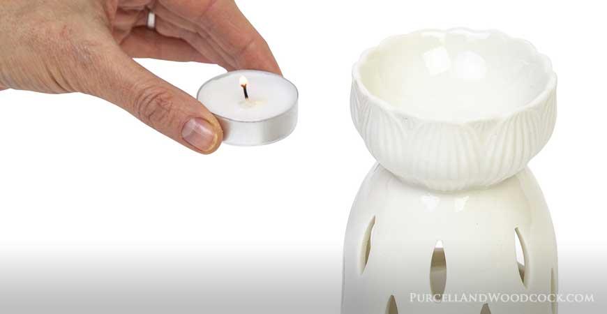Using Wax Warmer