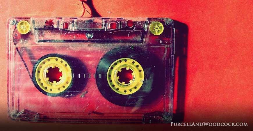 Old Stereo Cassette Tape