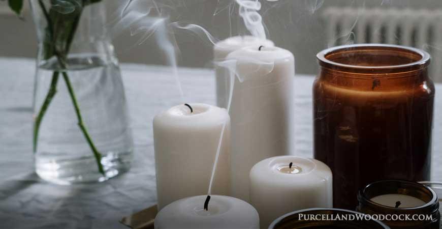 Smoking Extinguished Candles